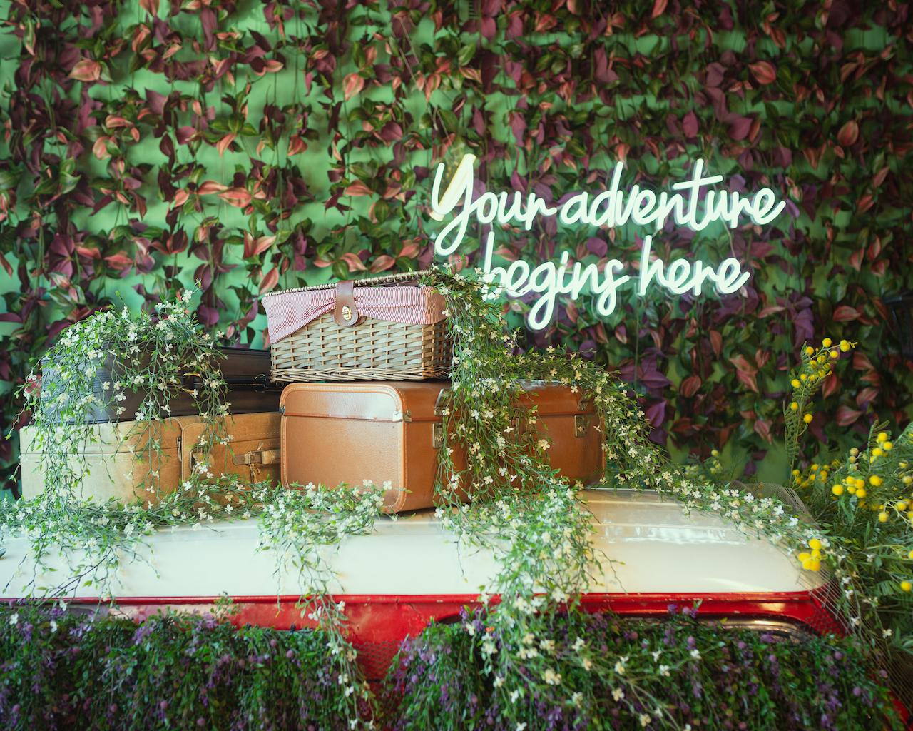 THATH Spring Installation: Secret Garden in Wonderland