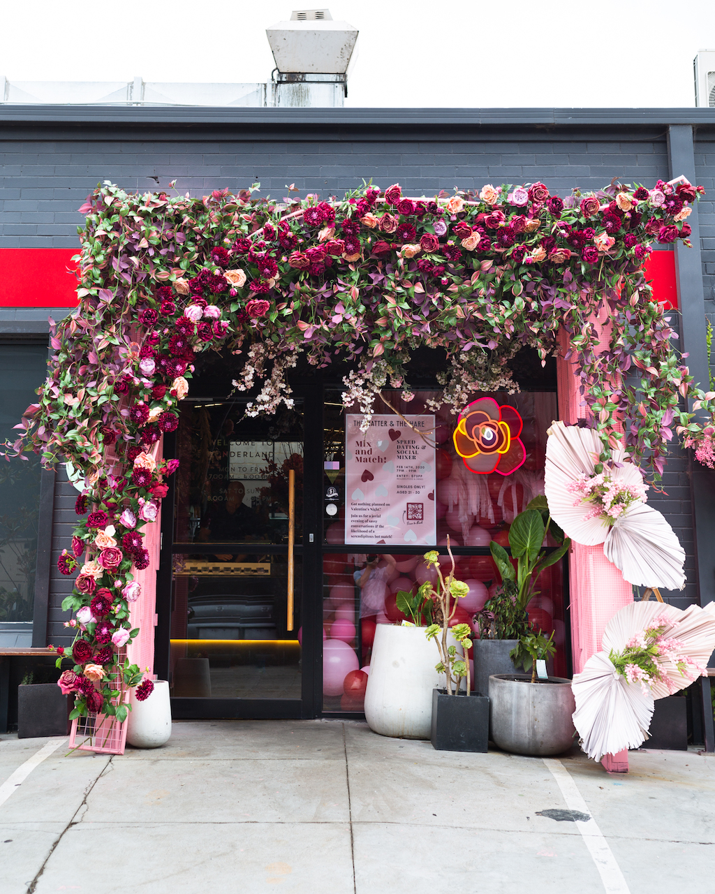 THATH Valentine/Autumn Installation: Blushing in Pink